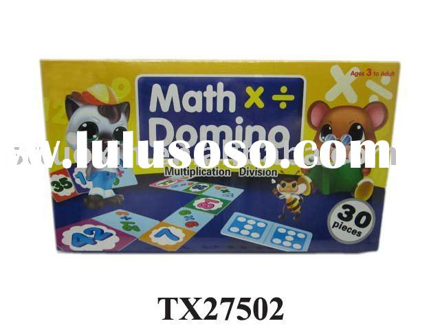 MATH DOMINO EDUCATION TOY GAME