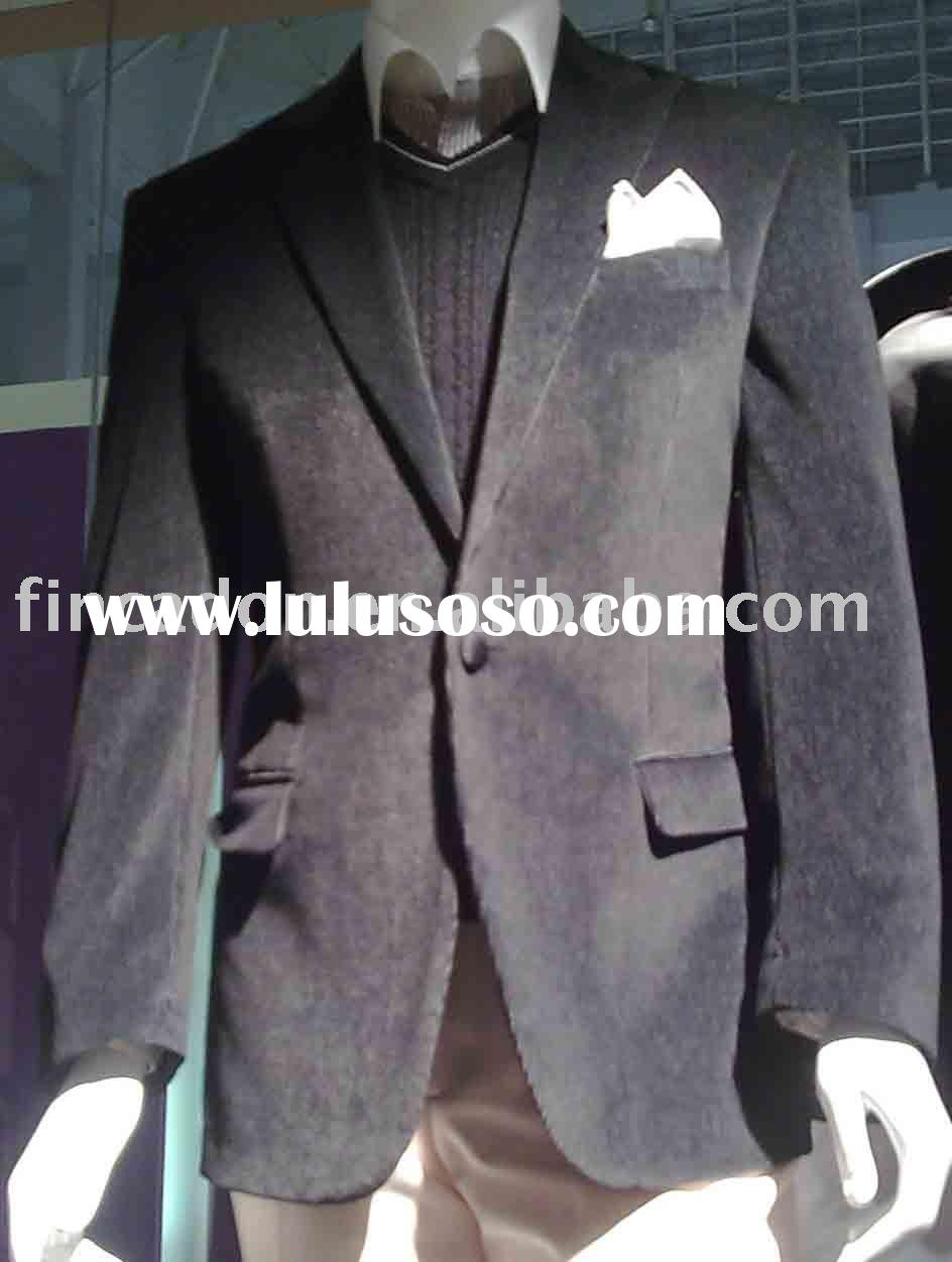 MEN'S SUITS/ CORDUROY SUITS,ONE BUTTON FASHION SUITS/BUSINESS SUITS/BRAND SUITS/FASHION SUIT