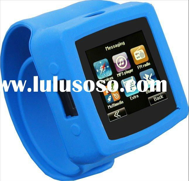 MQ666A 3.2mega HD camera 8G watch mobile, new fashion touchscreen mobile phone watch