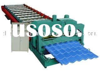 Manufacture roll forming machine used for corrugated roofing,roof panel roll former
