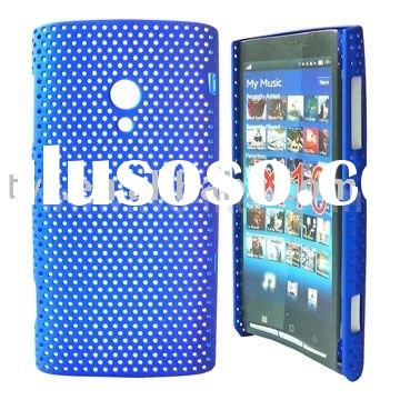 Mesh Pattern Hard Case Cover for Sony Ericsson Xperia X10