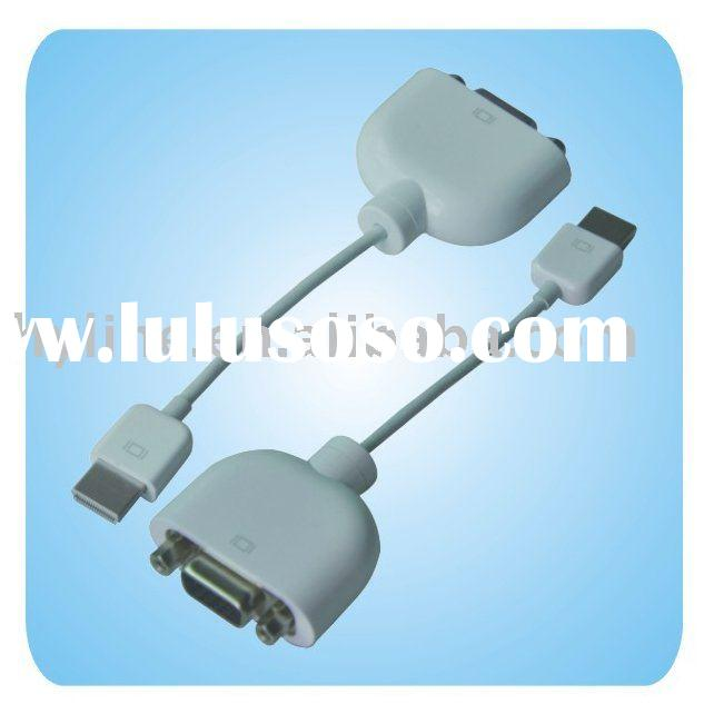 Micro-DVI to VGA Adapter Cable for Apple Macbook Air NR
