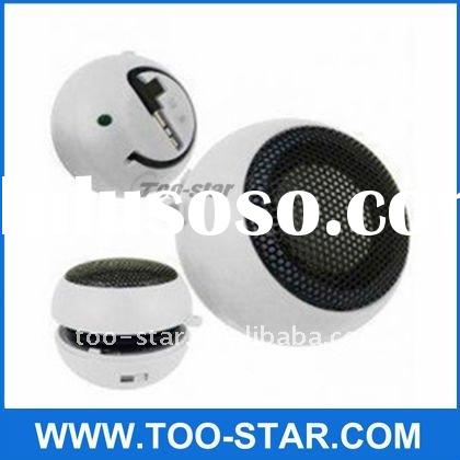 Mini Portable Travel Speaker for iPod Nano iPhone 3GS 3G 4 MP3 MP4 Player