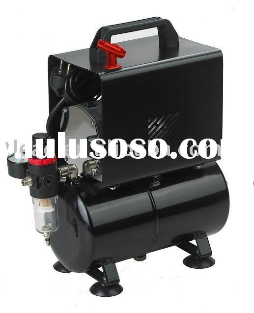 Mini air compressor with cover with tank (Oil-free)
