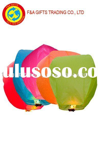 Mixed colour sky lantern/Make a wish lantern/paper sky lantern/party lantern/wishing lanterns/Make a