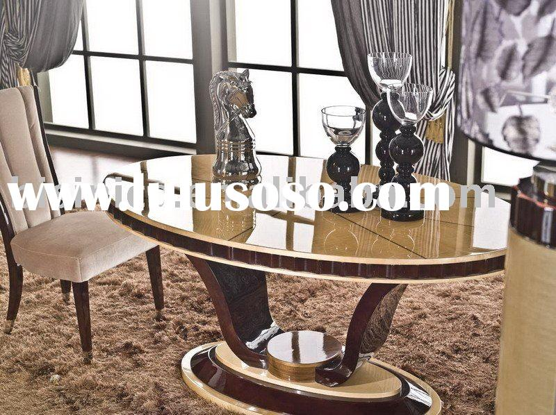 Modern dining table and dining chair,villa furniture,dining room furniture