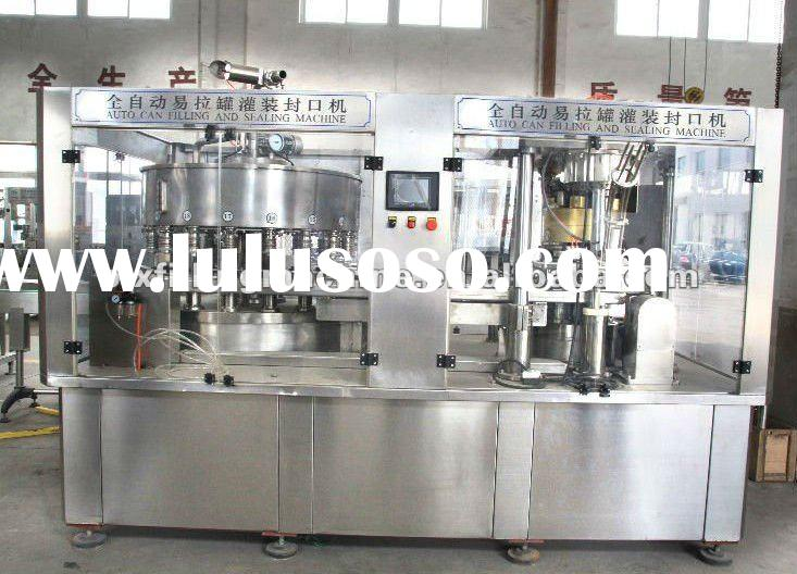 Monoblock Aluminum Can Filling and Sealing Machine
