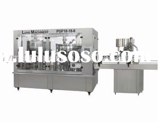 Monoblock carbonated drink filling machine