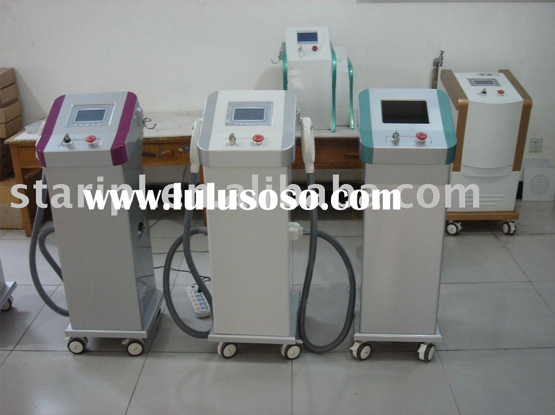 Multifunction IPL Beauty equipment for wrinkle removal, pigment removal, and hair removal