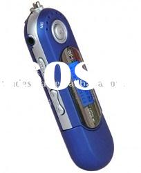Music MP3 Player - 1GB, Built-in FM Radio, Voice Recorder, Flash Drive, 13 Languages [MP3AAE2BL]