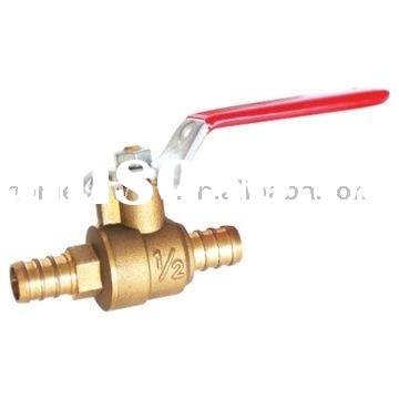 NSF Approved, pex connection,Brass ball valve,