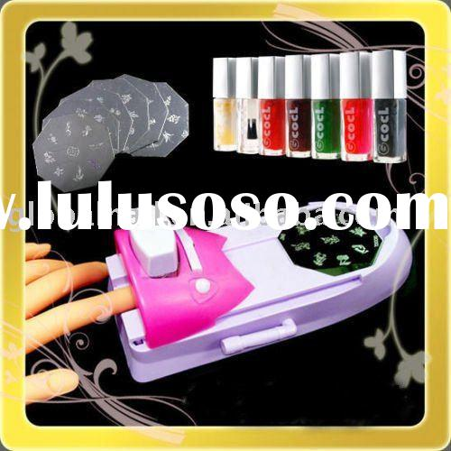 Nail Art DIY Print Color Printing Stamp Polish Machine