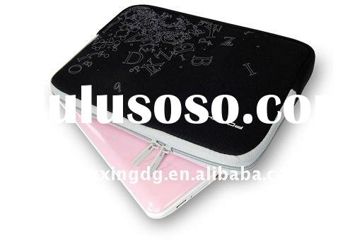 Neoprene flower laptop sleeve case