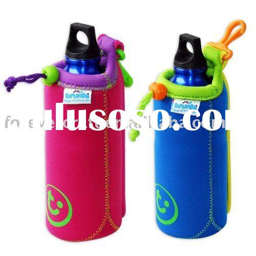 Neoprene water bottle cooler bag