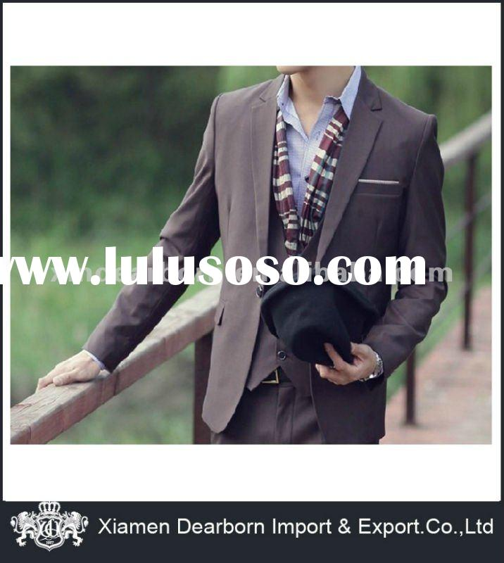 New Design Korean Fashion Men's Suit