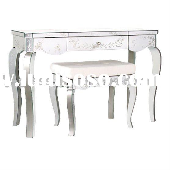 New Fashion Bedroom Mirrored Chest with drawers Bedside Table Dresser Mirrored Furniture -julia