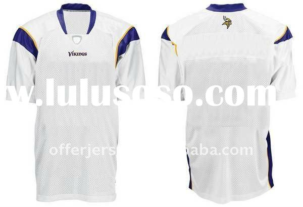 New Minnesota Vikings Football Jersey #blank white football Jersey Size 48-56 Authentic Sports Jerse