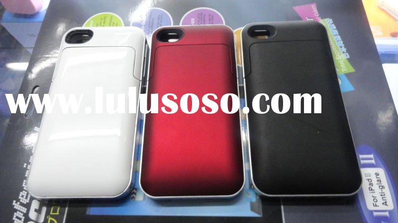 New Mobile Phone battery cases for iPhone 4/4S 2000mAh