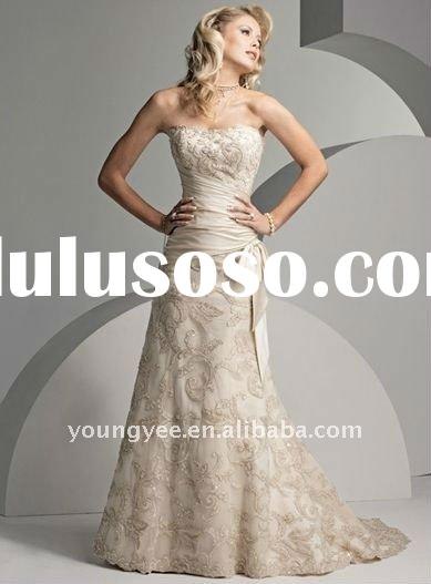 New design off shoulder full lace sash bridal wedding dress 2011 crystal and 2012 new style