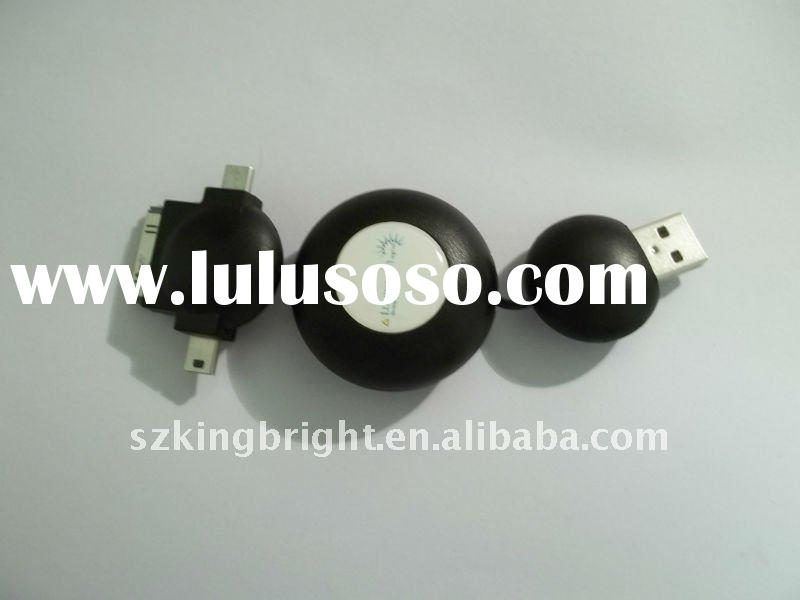 New universal USB cell phone charger for IPhone and IPAD