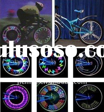 Newest and hot !!! smart led bike lights,led bicycle wheel decoration lights,led bike wheel turning
