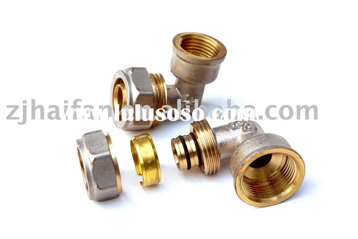 Nickel Plated Brass Fitting for PEX-AL-PEX Pipe