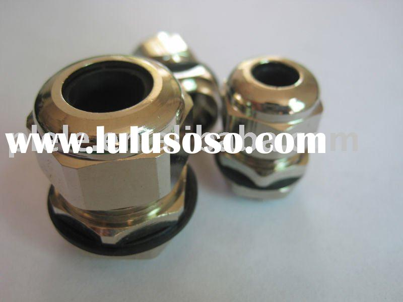 Nickel Plated M8 brass glands (IP68-10)