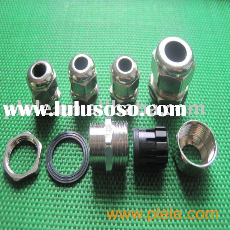 Nickel Plated cable gland brass M32 (IP68/UL/RoHS)