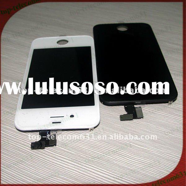 Original For Apple iPhone 4s Glass, Digitiser & LCD Replacement Part - Blackcolor