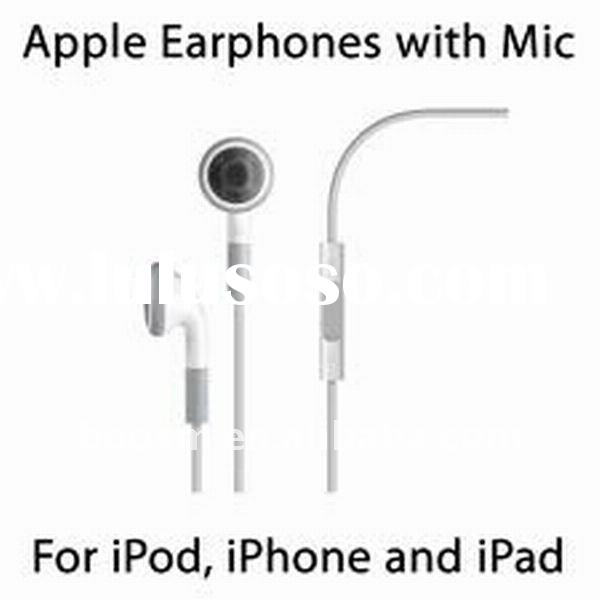 Original Headsets for iPhone 4 with Mic and Remote Control