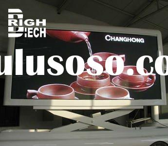 Outdoor Mobile Full Color LED Display Screen with High Brightness