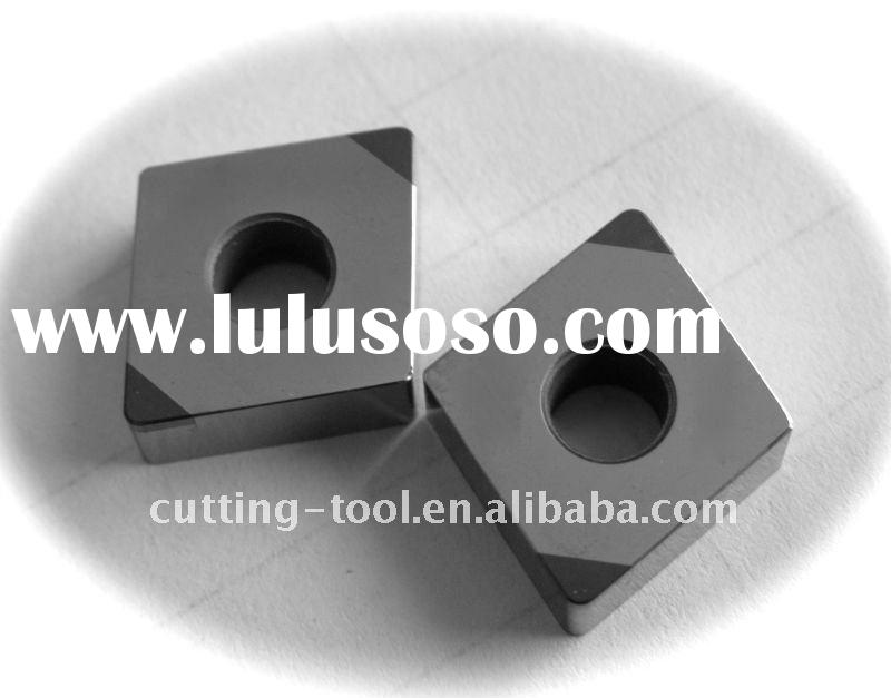 PCBN Inserts use for process hardened steel, hardened cast iron, grey cast iron and iron series meta