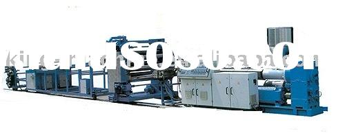 PVC, PET, PE,PP,ABS Automatic Plastic Sheet Extrusion Line
