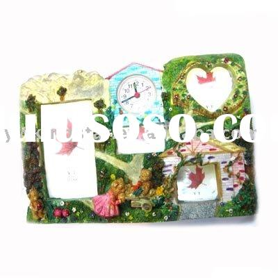 Photo Frame, Resin photo frame, Photo Frame with clock