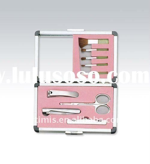 Pink Beauty kits with manicure sets &makeup Tools