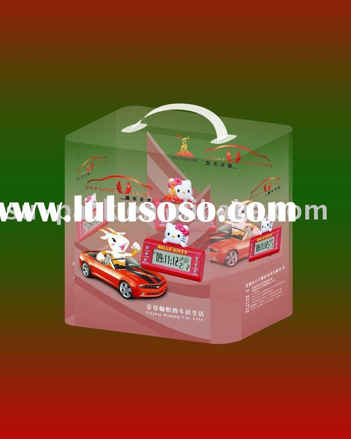 Plastic Packaging Box with Holder