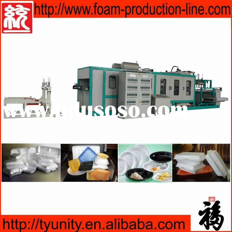 Plastic Vacuum Forming Machine for Lunch Box (TY-1040)