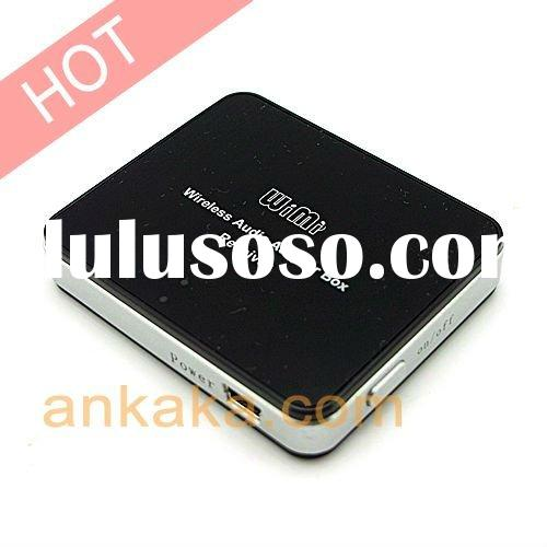 Pocket-sized Remote Speaker Converter -- USB Wireless Audio Adapter w/ 2.4GHz Wireless Transmitter