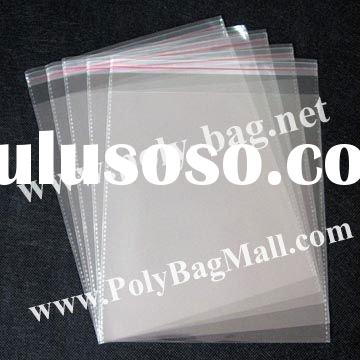 Poly Bag with self-adhesive seal in size 20x26.5cm (7.8x10.4 inches)