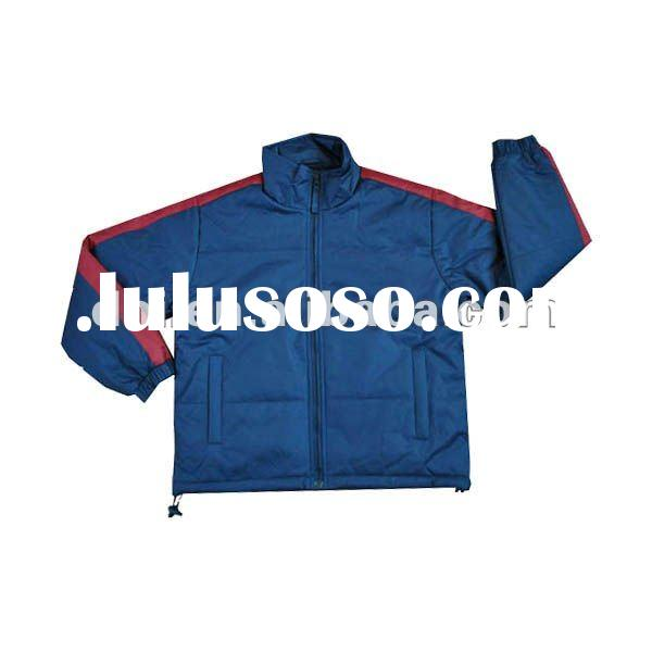 Polyester mac casual jacket for mens South America style clothing