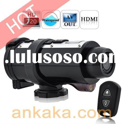 Professional Waterproof Sports Action Video Helmet Camera w/ HDMI, Remote Control & Laser Light