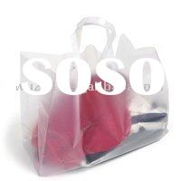 Promotional Plastic Bags,Large Clear Frosted Shopping Bag