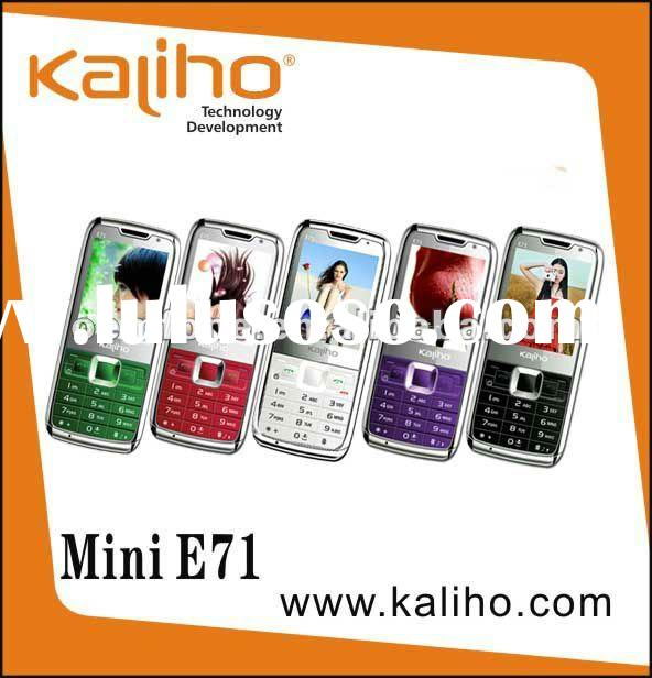 Quad band dual sim mobile phone Mini E71