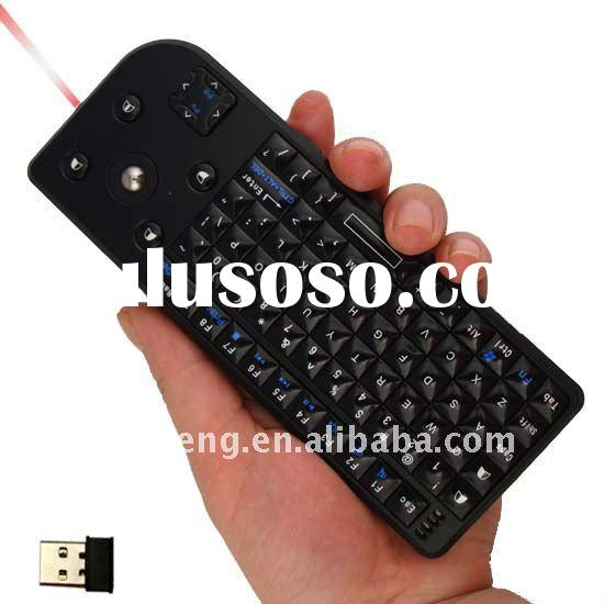 RF-2.4G Mini Wireless Keyboard With Trackball Mouse