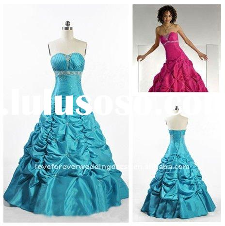 Real Sample Ball Gown Prom Dress Evening Wholesale Reail
