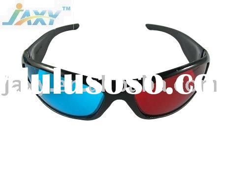 Red blue/cyan Plastic 3D glasses
