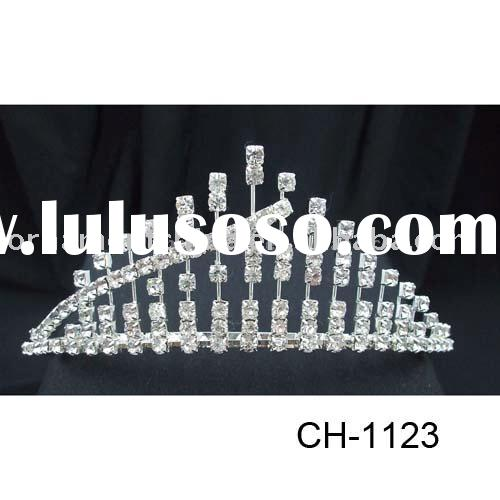 Rhinestone Wedding tiara//Bridal tiara/party tiara/birthday tiara/diamond tiara