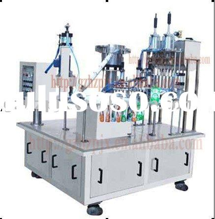 SG-ZX-4 Automatic pouch filling machine(2 in 1 Filing and capping)