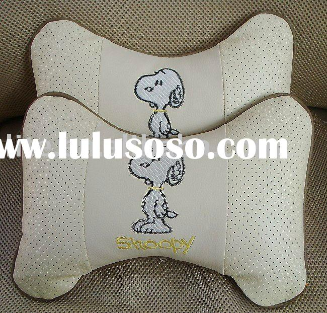 SNOOPY car neck pillow car seat neck pillow inflatable car pillow car headrest pillow cartoon neck p