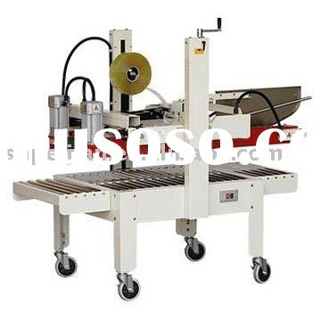 Semi-Automatic Flaps Folding Carton Sealing Machine